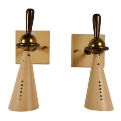 Pair of Sconces by Greco