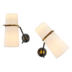 Pair of Sconces by Lunel, 1950