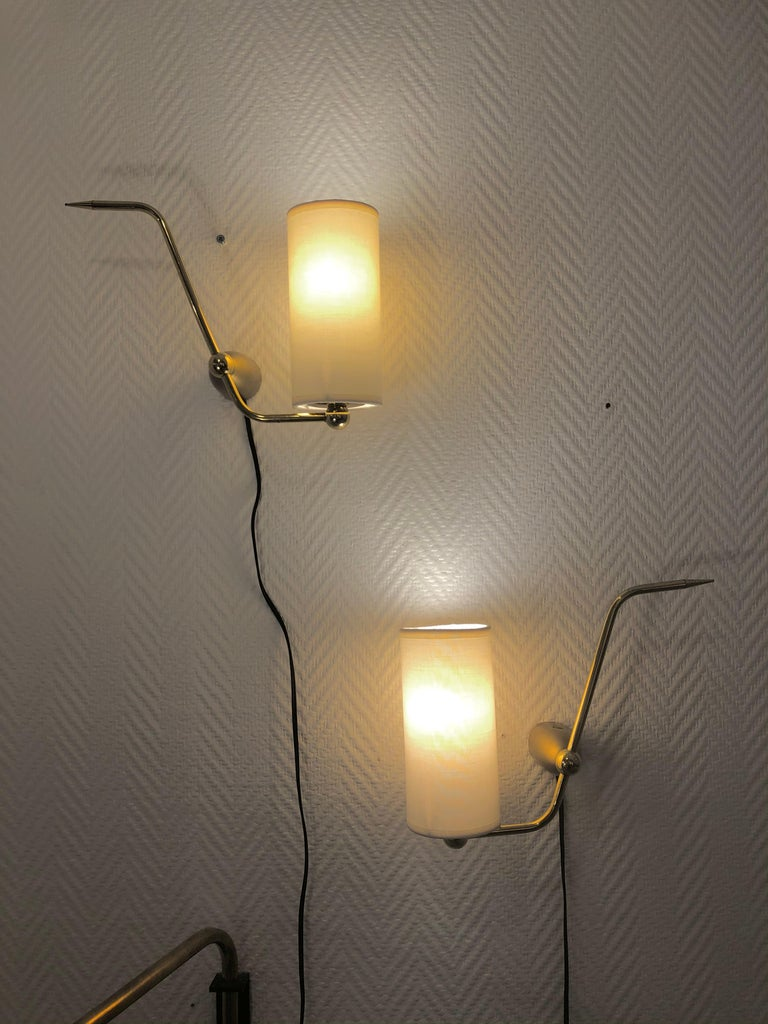 Pair of Sconces by Maison Arlus, 1950 For Sale 12