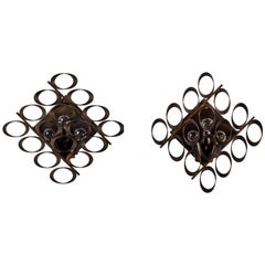 Pair of Sconces by Sciolari