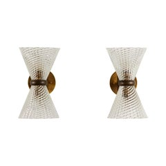 Pair of Sconces by Seguso