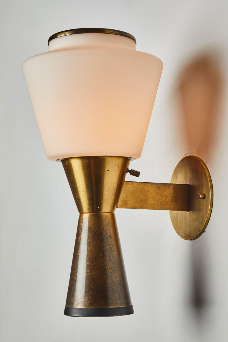 Pair of Sconces by Stilnovo In Good Condition For Sale In Los Angeles, CA