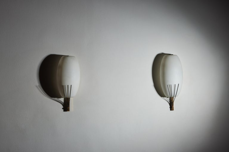 Pair of Sconces by Stilnovo In Good Condition In Los Angeles, CA