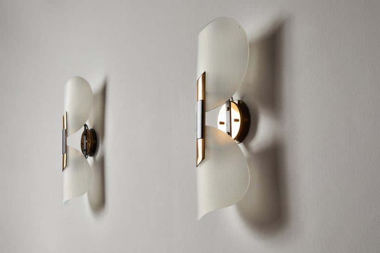 Pair of Sconces by Stilnovo For Sale 2