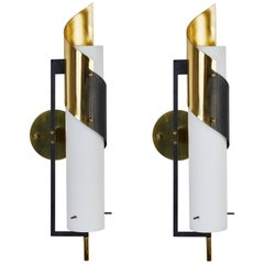 Pair of Sconces by Stilnovo