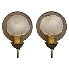 Pair of Sconces Designed by Architect Frank Forster, 1934
