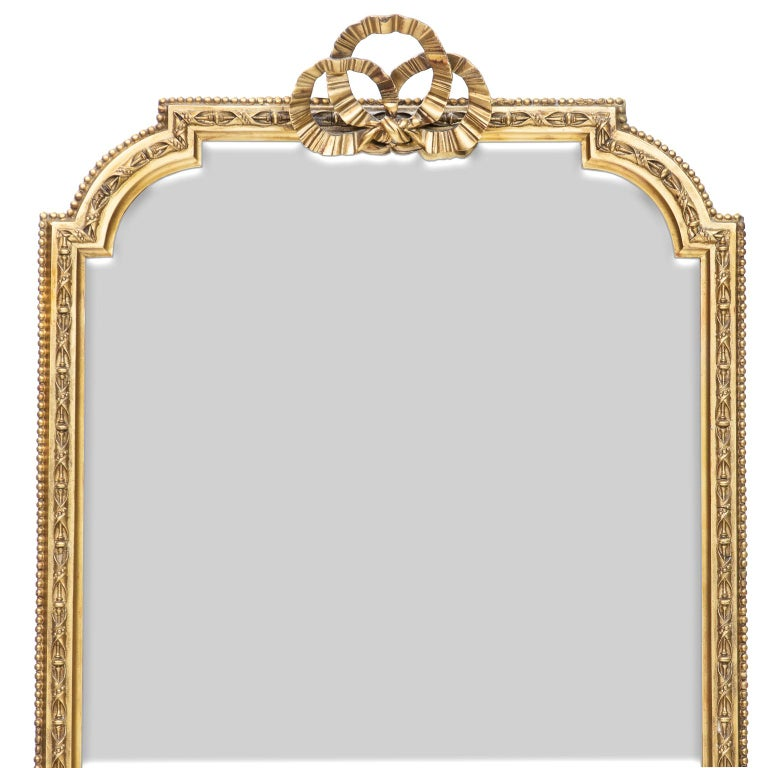 Pair of Scottish Tall Mirrors In Good Condition For Sale In Brentwood, TN