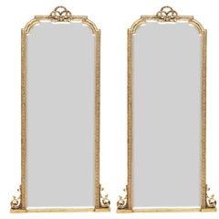 Pair of Scottish Tall Mirrors