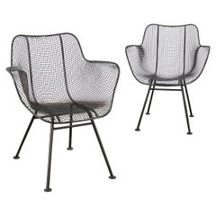 Pair of Sculptura Patio Chairs by Russell Woodard