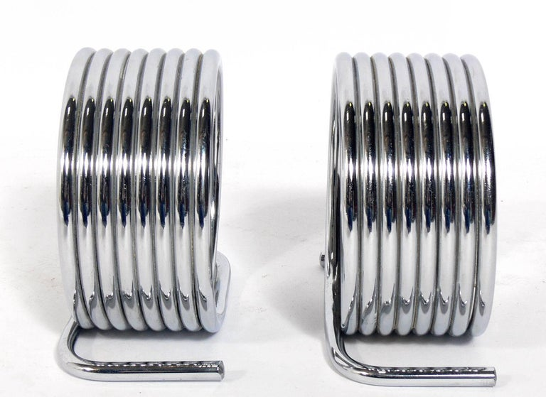 Pair of Sculptural Bookends by Yonel Lebovici In Good Condition For Sale In Atlanta, GA