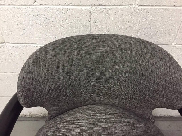 Late 20th Century Pair of Sculptural Lounge Chairs For Sale