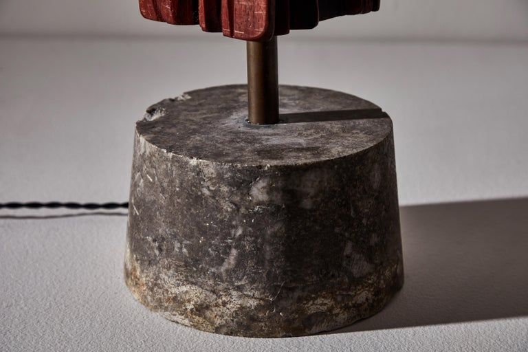 Pair of Sculptural Table Lamps by Yasuo Fuke For Sale 3