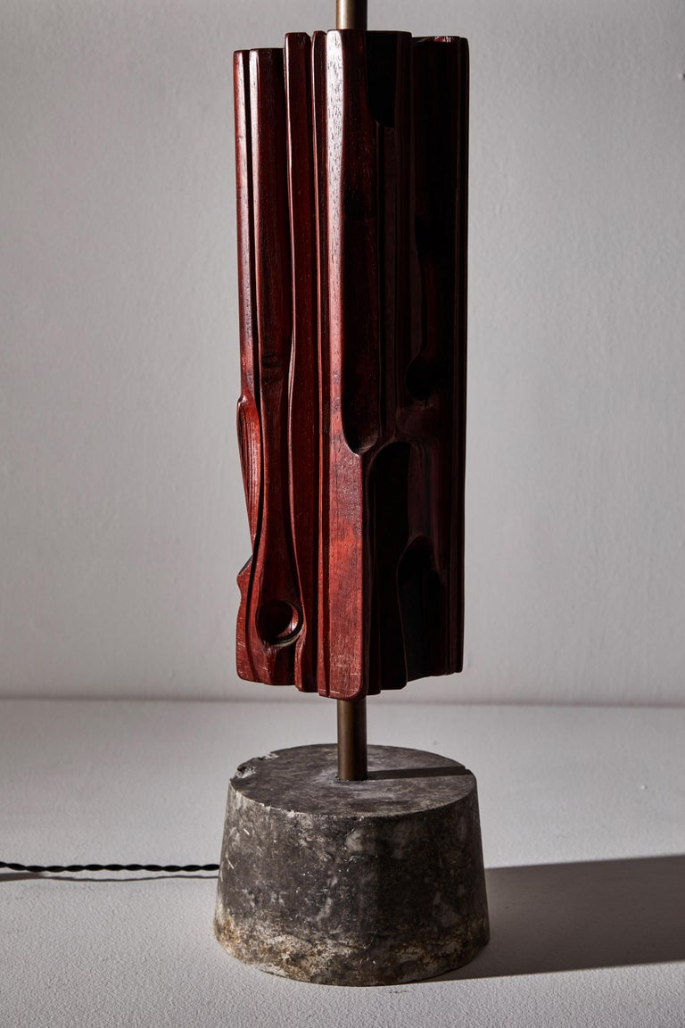 Pair of Sculptural Table Lamps by Yasuo Fuke For Sale 5