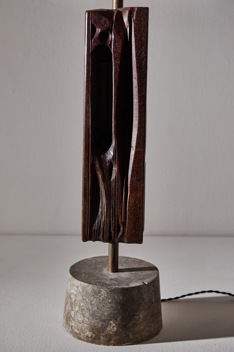 Pair of Sculptural Table Lamps by Yasuo Fuke For Sale 8
