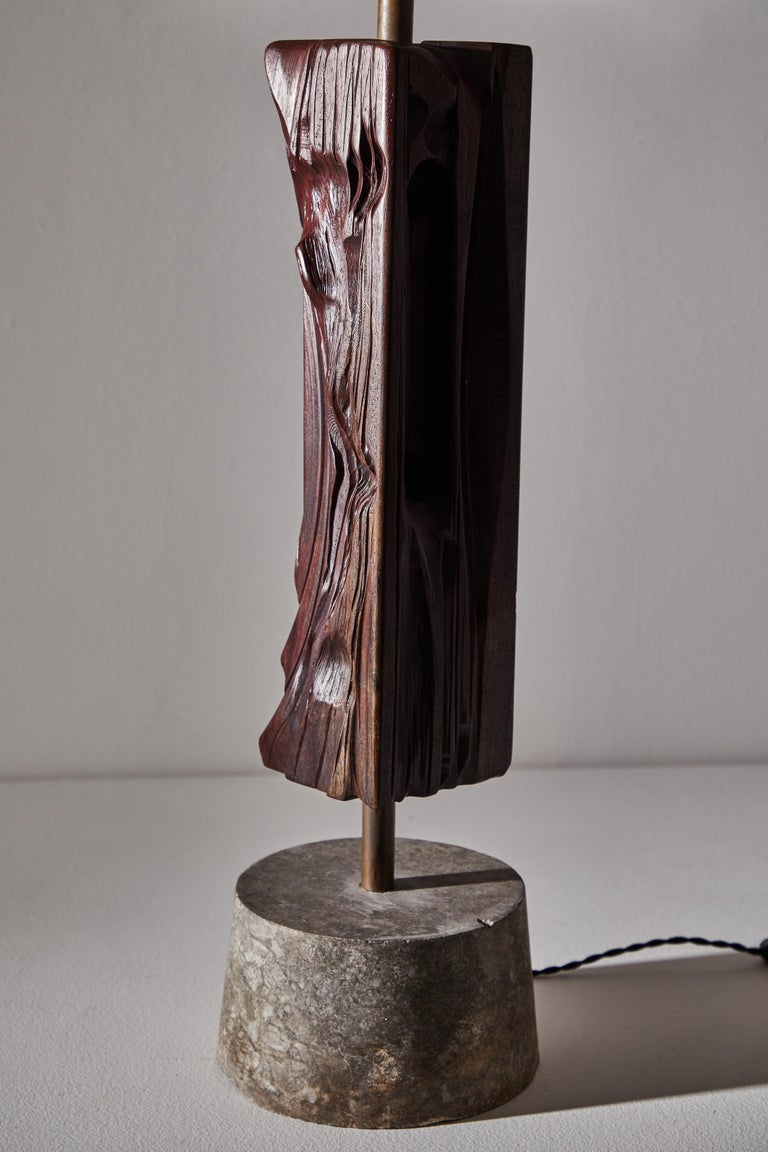 Pair of Sculptural Table Lamps by Yasuo Fuke For Sale 9