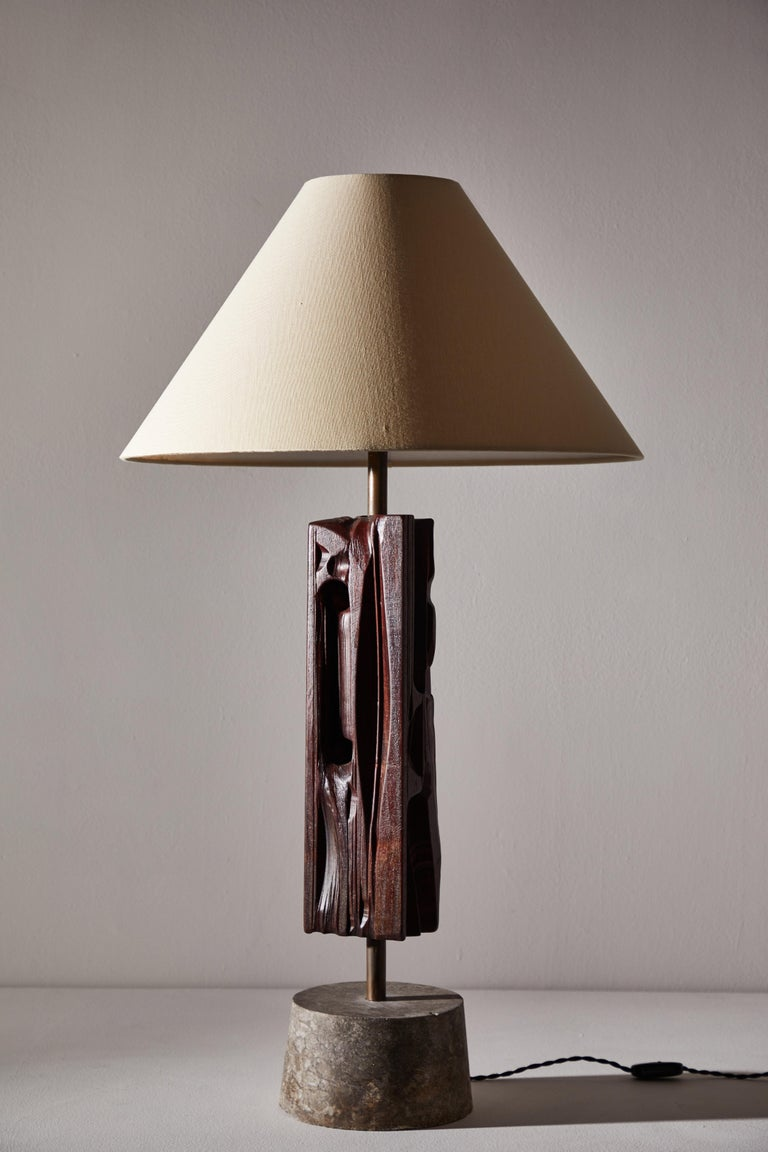 Pair of Sculptural Table Lamps by Yasuo Fuke For Sale 1