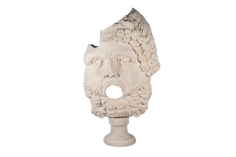 Pair of Sculptures, Plaster, France, circa 2000 For Sale 1