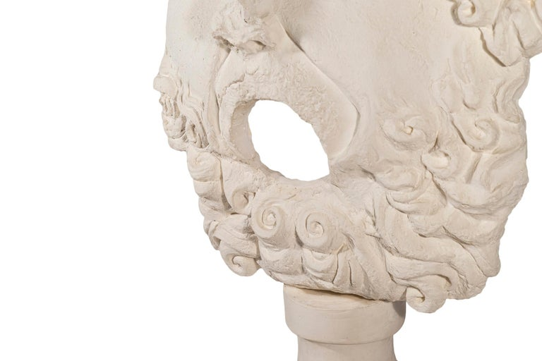 Pair of Sculptures, Plaster, France, circa 2000 For Sale 3