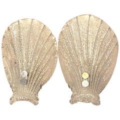 Pair of Sea Shell Sconces by Soelken Leuchten, Germany 1960s
