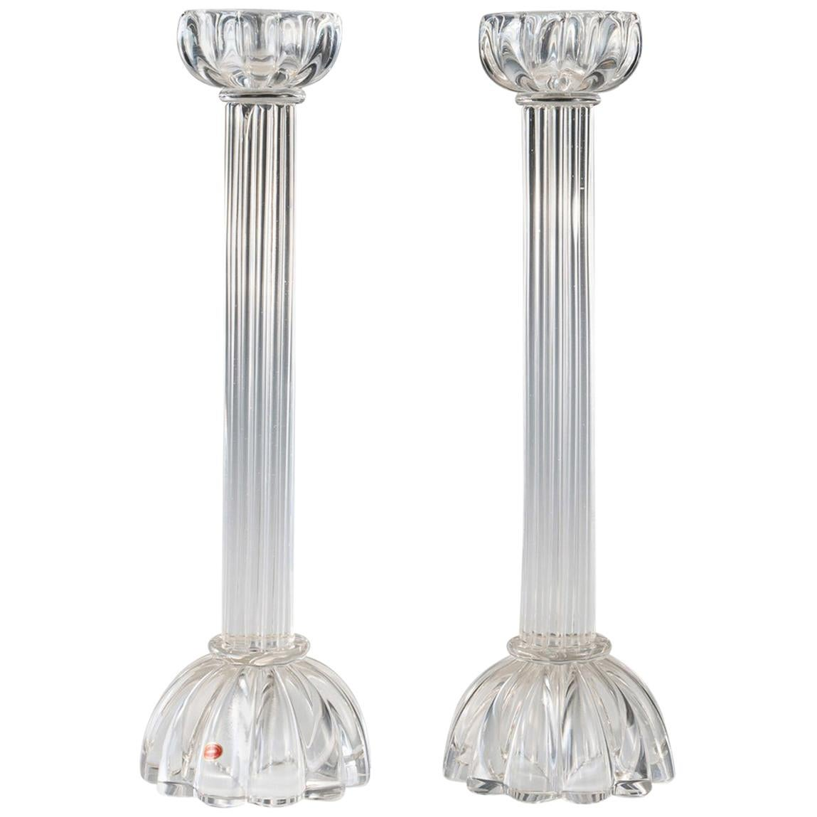 Archimede Seguso Candle Holders