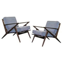 Pair of Selig Armchairs by Poul Jensen