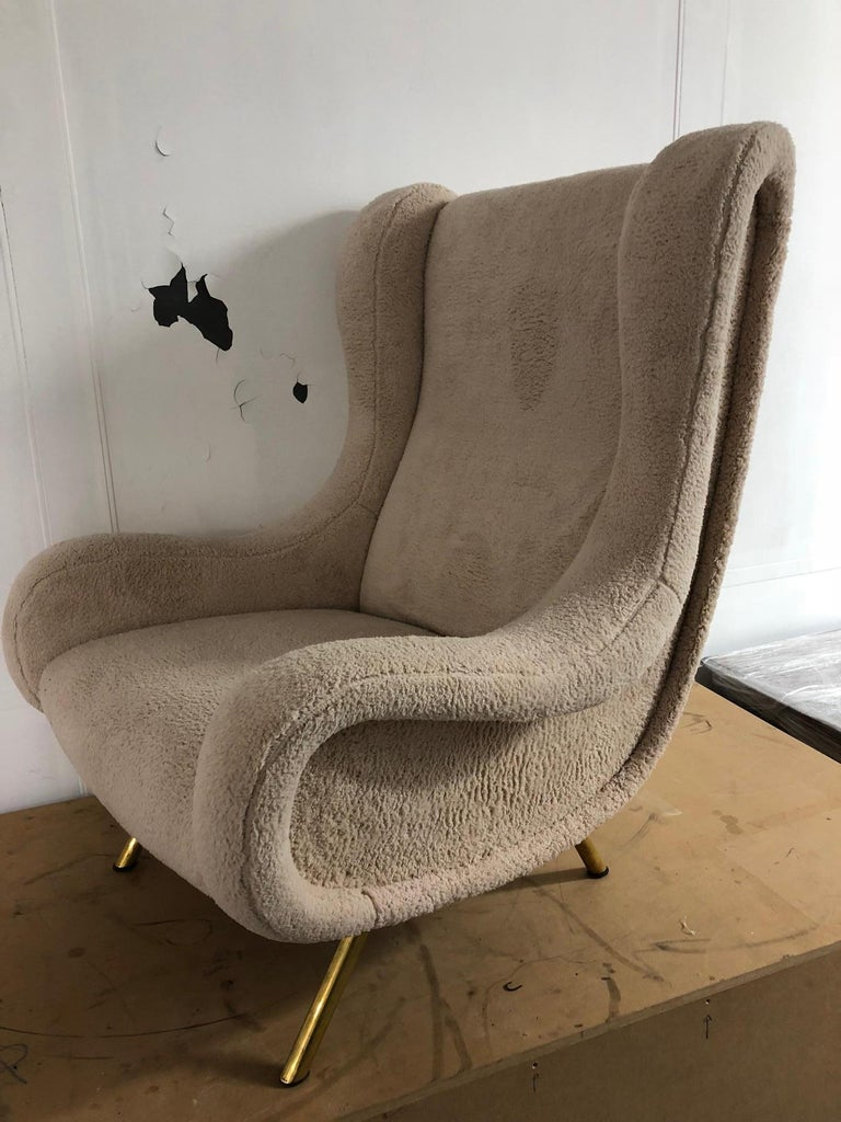 Pair of Senior Armchairs by Marco Zanuso for Arflex, 1950s For Sale 2
