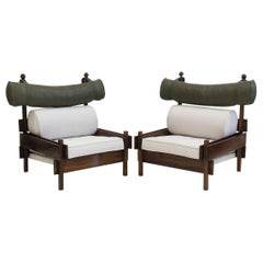 Pair of Sergio Rodrigues 'Tonico' Chairs