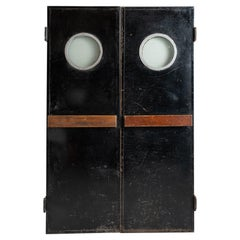 Pair of Service Doors by Charlotte Perriand for Les Arcs