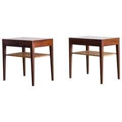Pair of Severin Hansen Rosewood Side Tables