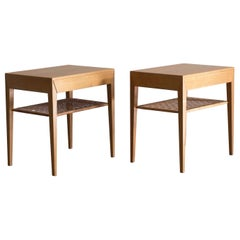 Pair of Severin Hansen Side Tables for Haslev
