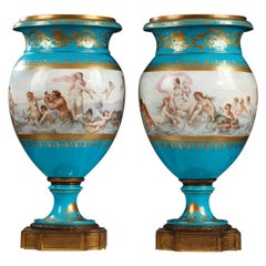 "Pair of ""Sèvres"" Vases"