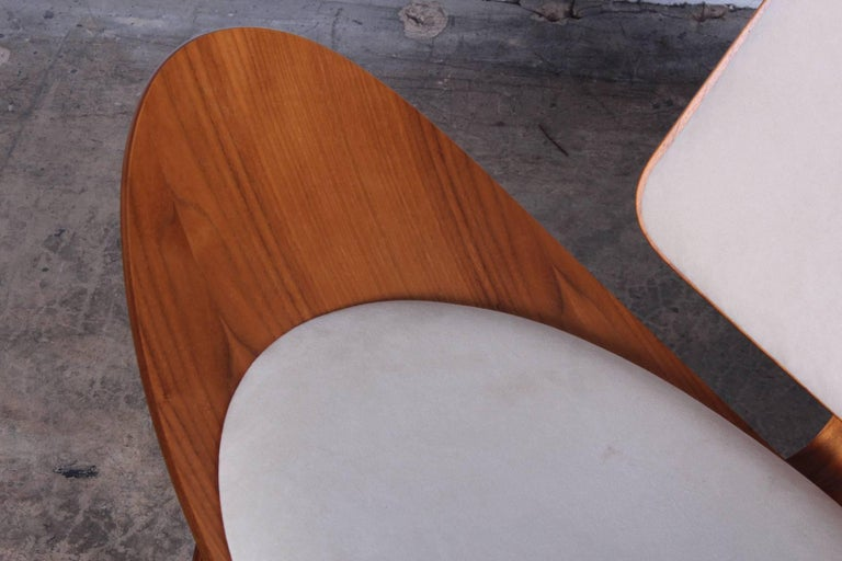 Pair of Shell Chairs by Hans Wegner For Sale 4