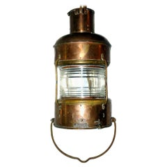 Pair of Ship Lanterns, Sold Individually