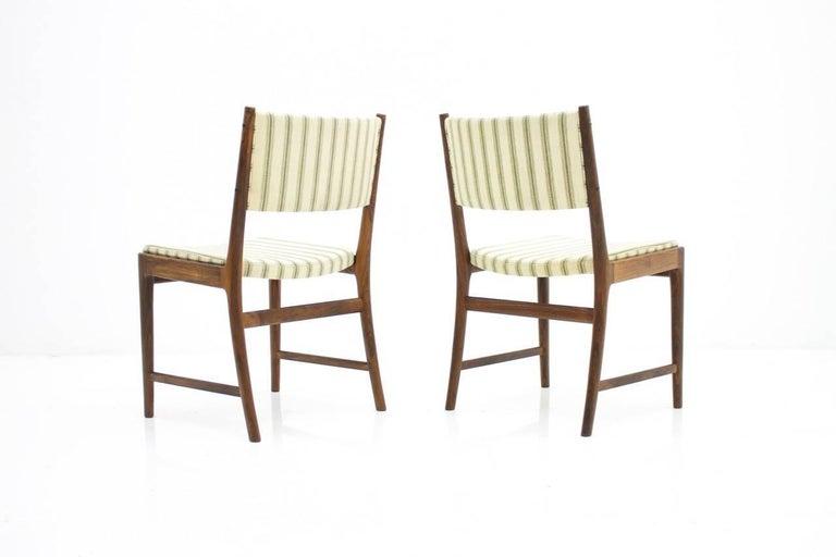 Danish Pair of Side Chairs by Kai Lyngfeldt-Larsen for Søren Willadsen, Denmark, 1960s For Sale