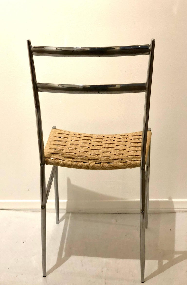 pair of side chairs by philippe starck object perdu for driade at 1stdibs. Black Bedroom Furniture Sets. Home Design Ideas