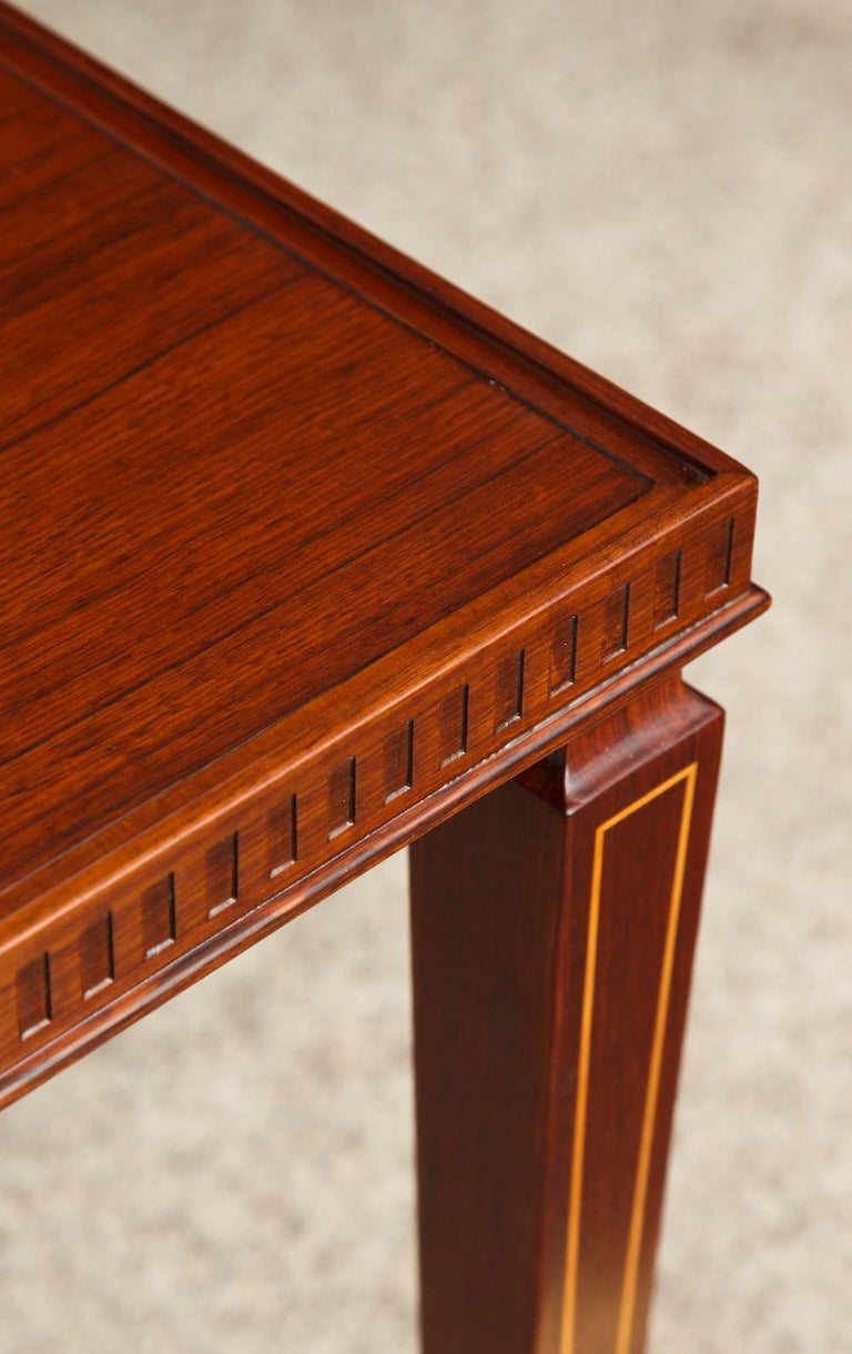 Pair of Side Rosewood Tables by Paolo Buffa In Excellent Condition For Sale In New York, NY