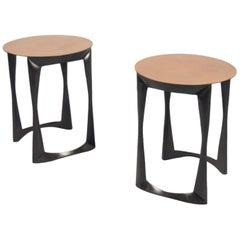 Pair of Side Tables by Anasthasia Millot, France, 2017