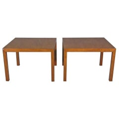 Pair of Side Tables by Dunbar