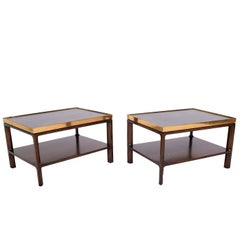 Pair of Side Tables by Edward Wormley for Dunbar