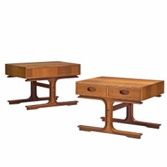 Pair of Side Tables by Gianfranco Frattini