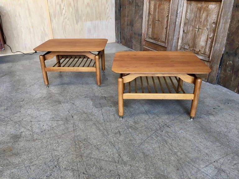 Pair of Side Tables by Greta Grossman For Sale 1