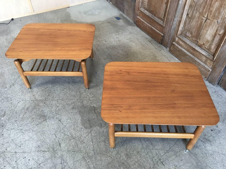 Pair of Side Tables by Greta Grossman For Sale 2