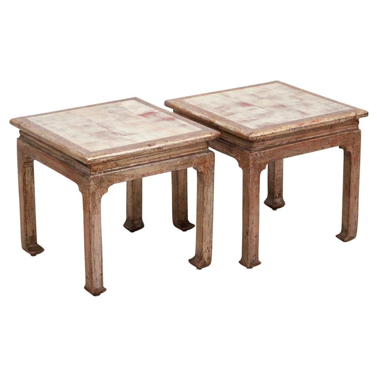 Pair of Side Tables by Max Kuehne