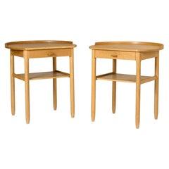 Pair of Side Tables by Sven Engström and Gunnar Myrstrand for Bodafors, Sweden