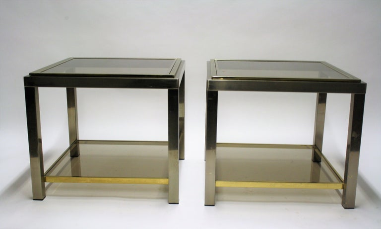 Pair of Side Tables Byjean Charles, 1970s 3