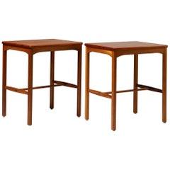 Pair of Side Tables Designed by Carl Malmsten for Carl Löfving & Söner, Sweden