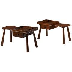 Pair of Side Tables Designed by Ericson Taserud, Sweden, 1963