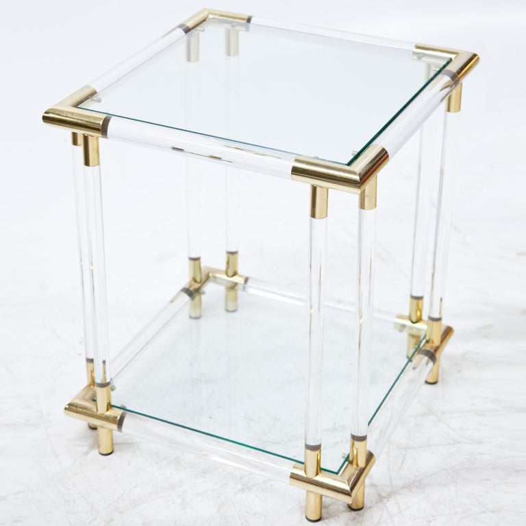 Pair of Side Tables In Good Condition For Sale In New York, NY