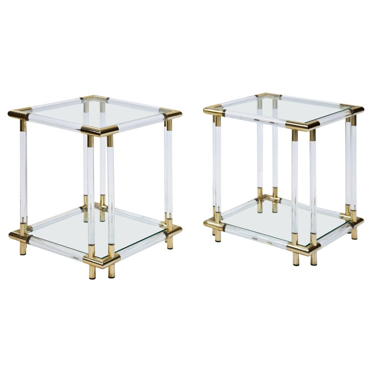 Pair of Side Tables For Sale