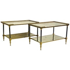 Pair of Side Tables in Style of Maison Jansen, circa 1960s